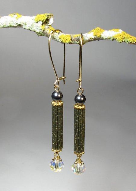 modern earrings