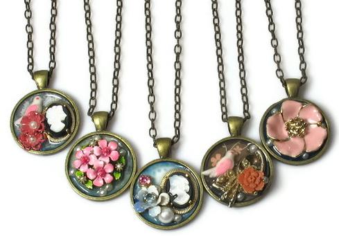 upcycled jewelry ideas blukatdesign handmade artisan jewelry