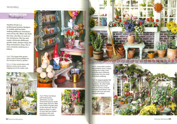 Dollhouse Garden Blukatdesign Handmade Artisan Jewelry