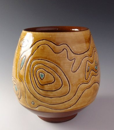 topo vase