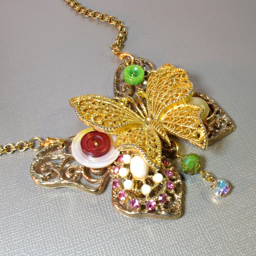 upcycled jewely