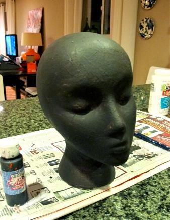 mannequin head crafts