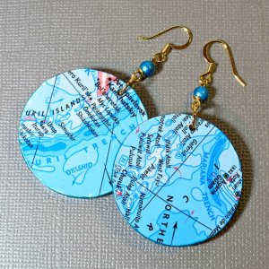 DIY Decoupage Earrings Tutorial