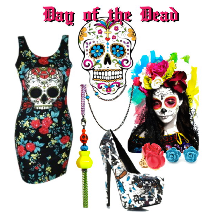 day of the dead fashion