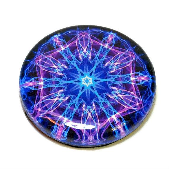 Mandala art paperweight