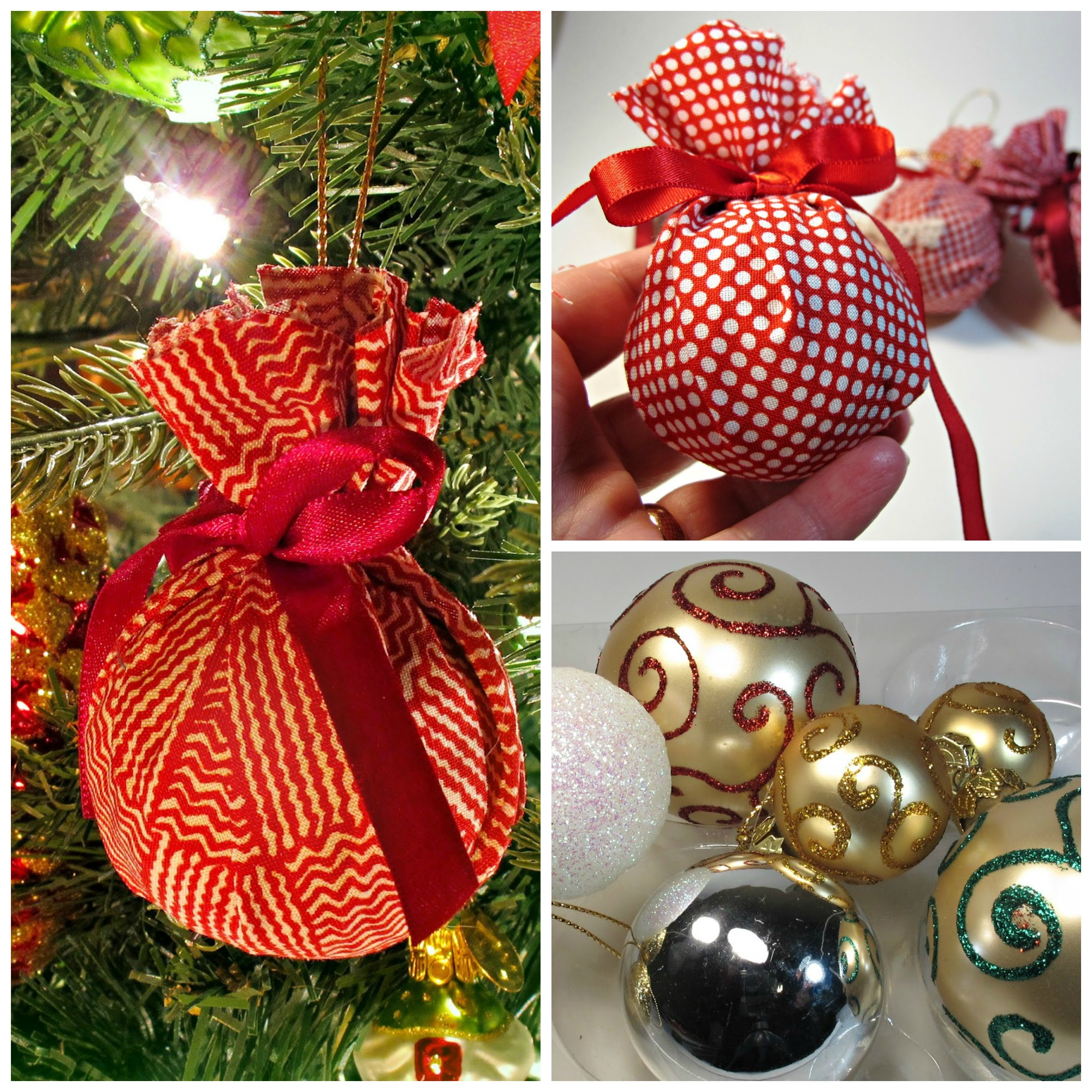 2 Fun Upcycled Christmas Ornament DIY Projects