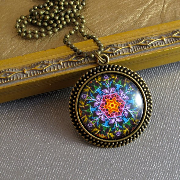 mandala art jewelry