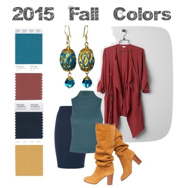 2015 Pantone color blocking