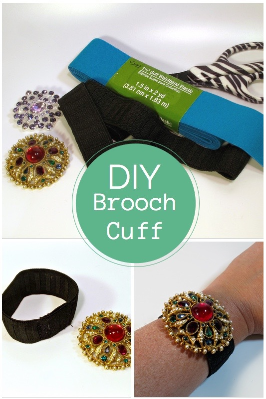 Simple DIY Cuff Bracelet