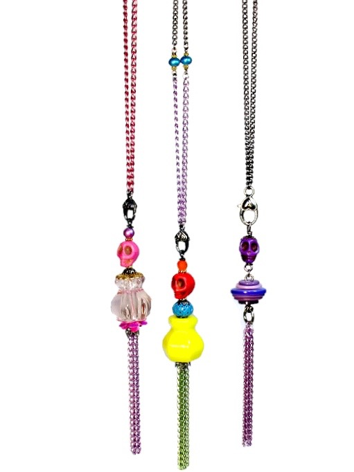 Colorful Long Tassel Necklaces
