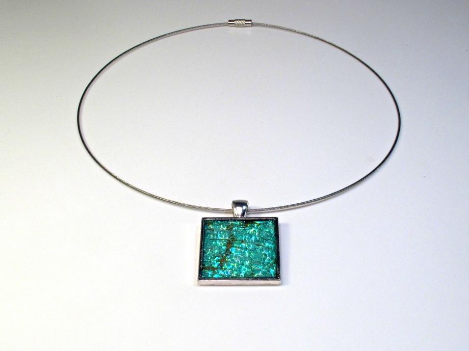 CD necklace pendant