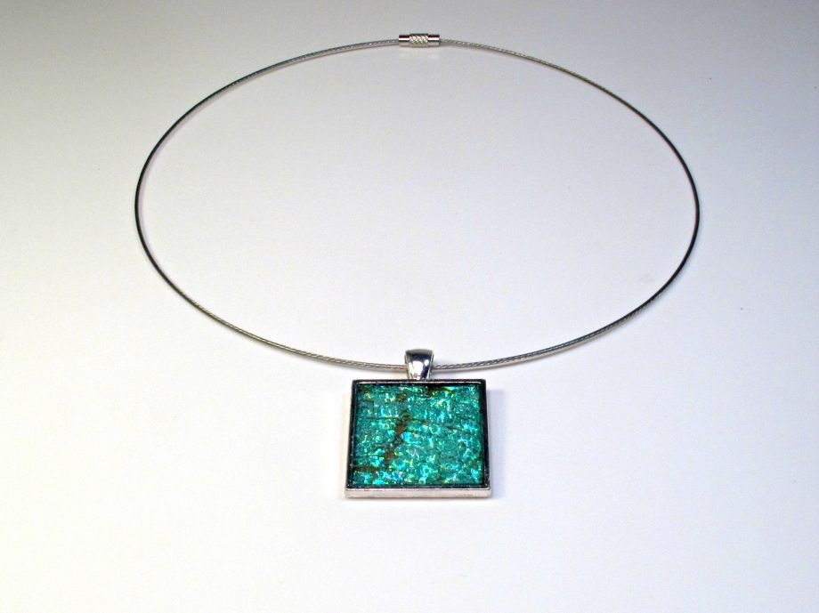 CD necklace pendant