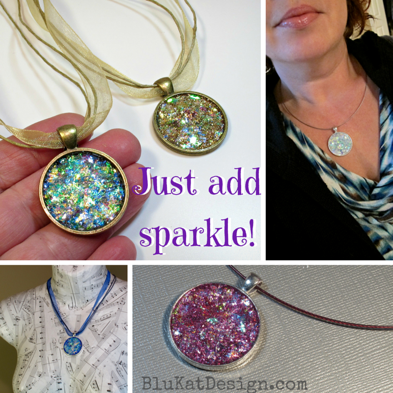 sparkly necklace pendants , gifts for her