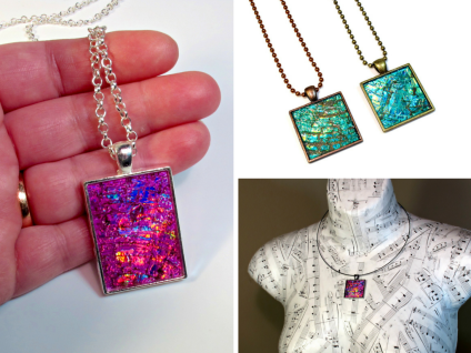 repurposed recycled upcycled jewelry