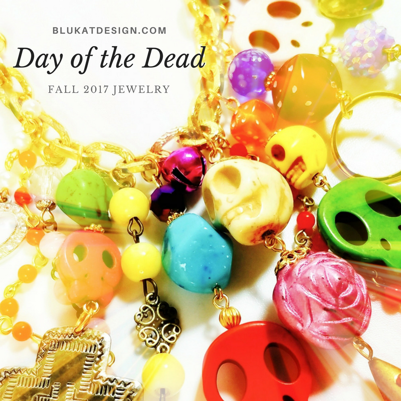 day of the dead jewelry fall 2017