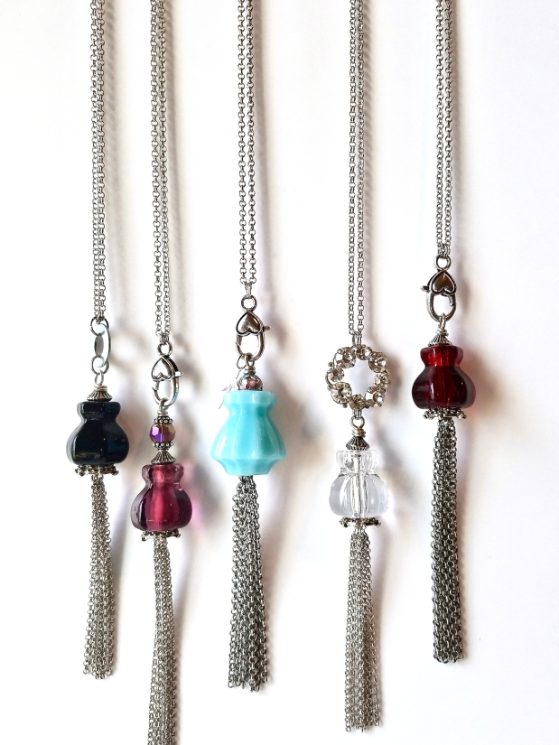 Must have long tassel necklaces by BluKatDesign on Etsy