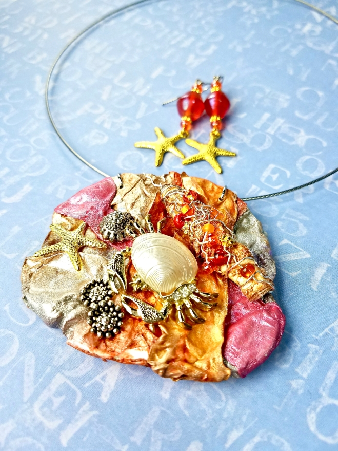 Ocean Inspired Art Jewelry