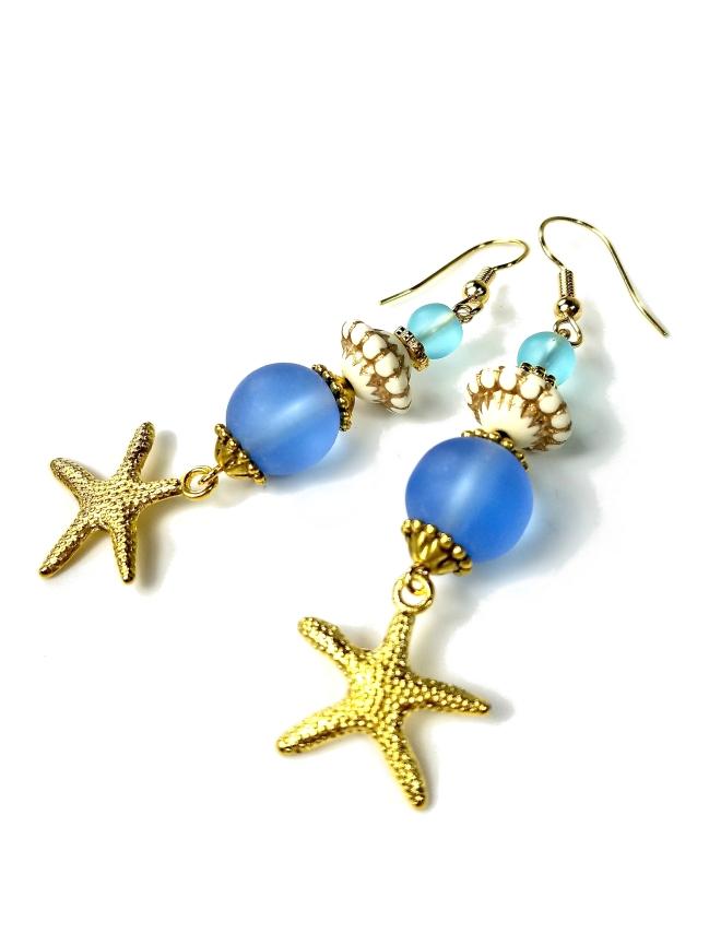 Sea life earrings