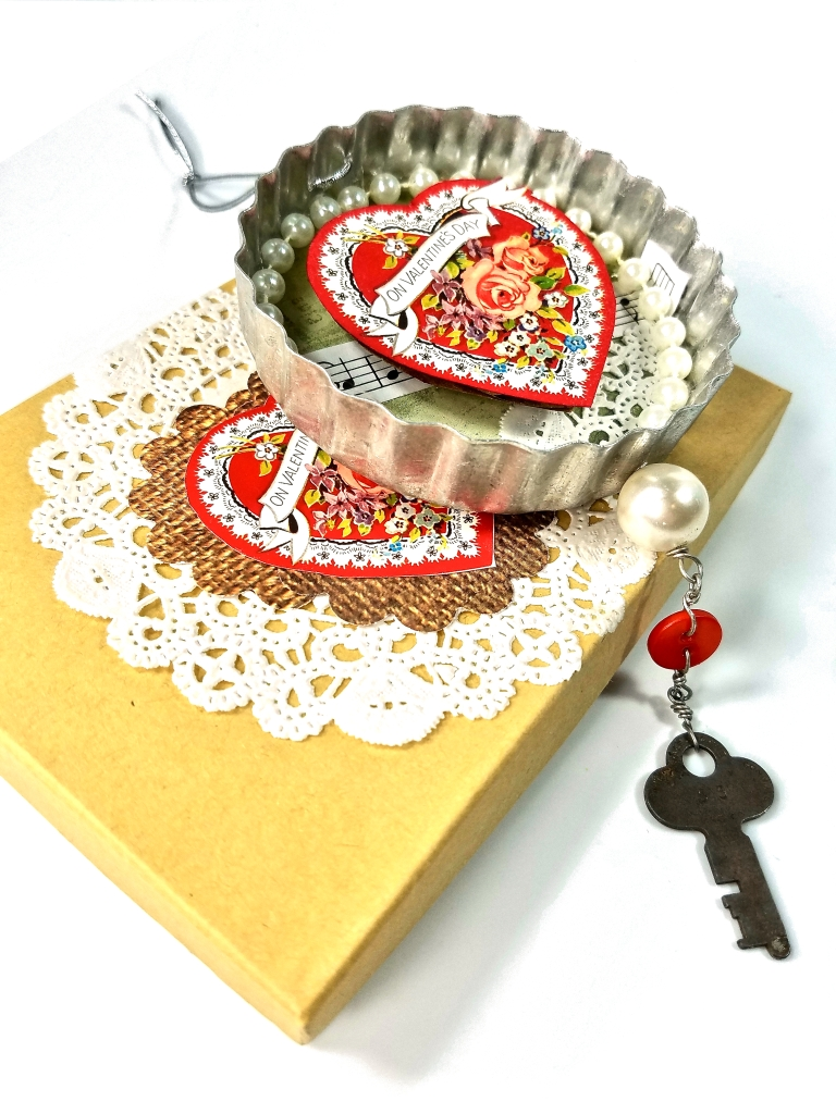 Valentines gift ornament with box