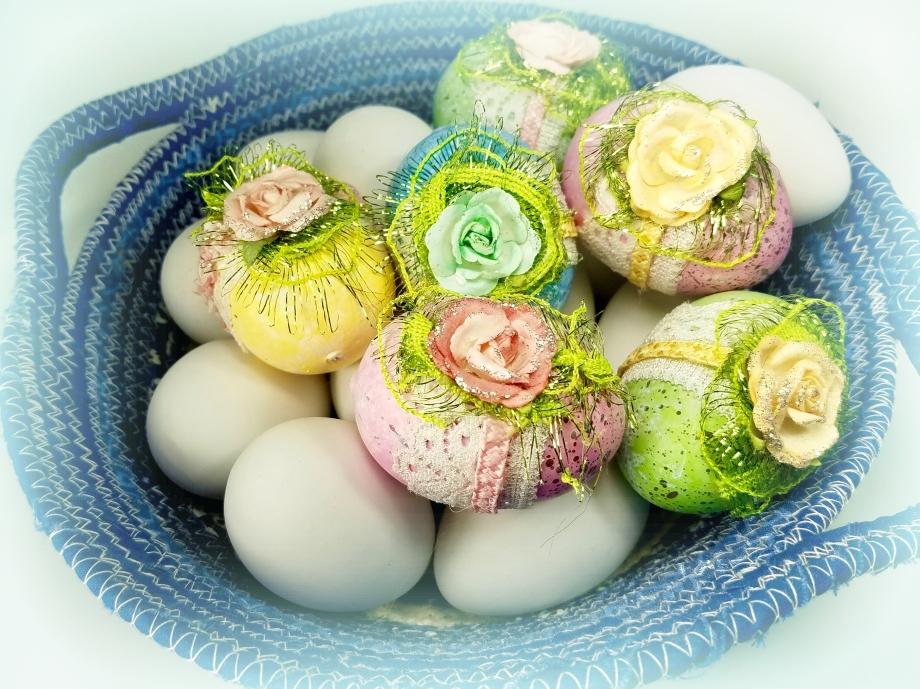 Easter basket decorations