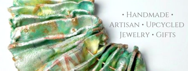 Handmade artisan upcycled jewelry