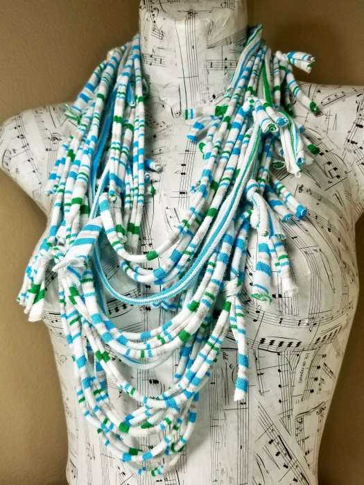 summer infinity scarf necklace