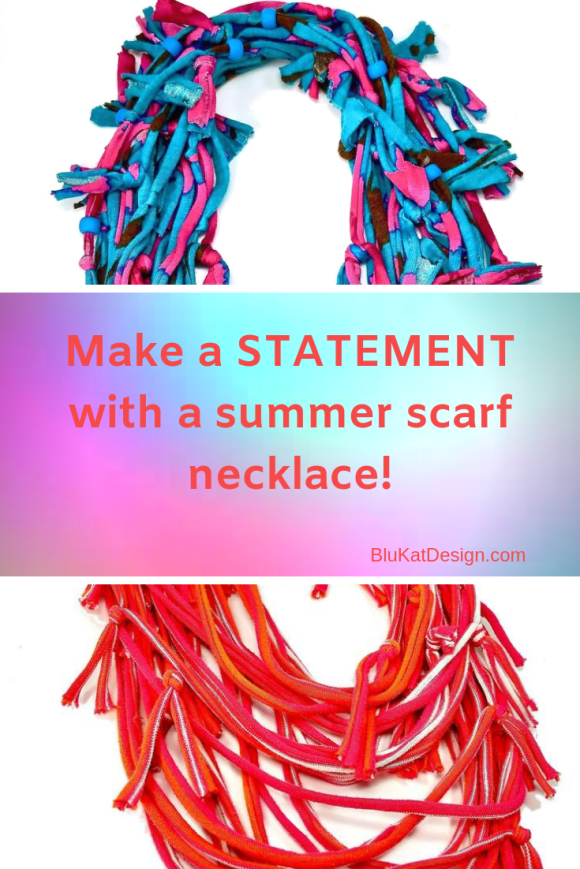 summer infinity scarf necklaces
