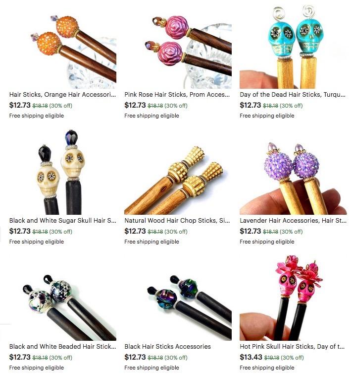 metà fuori sulle immagini di piedi di qualità etsy accessories | BluKatDesign Handmade Artisan Jewelry