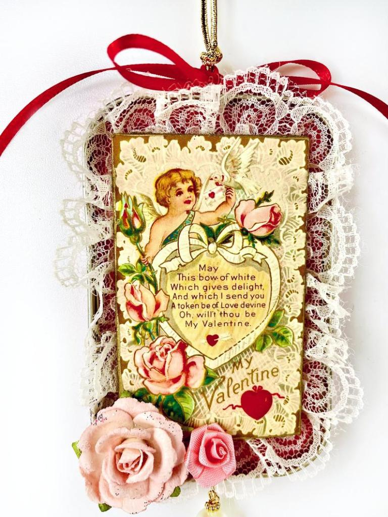 Altoids tin ornament gift