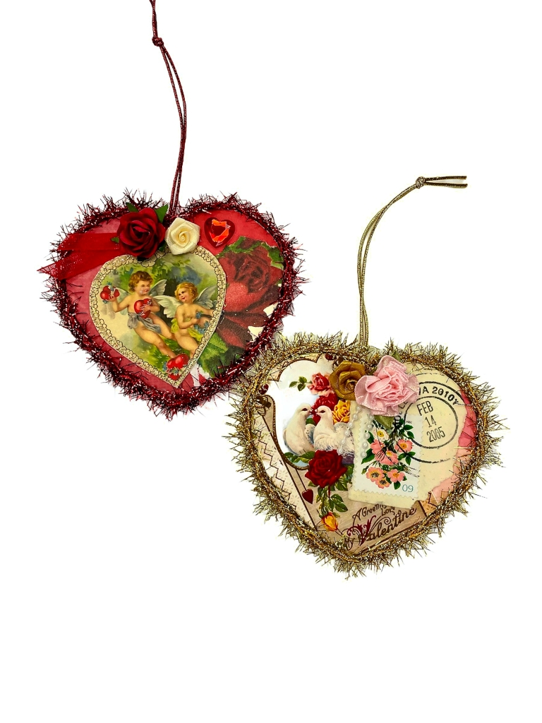 Romantic Valentine's Day ornament gift