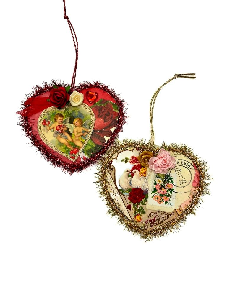 Romantic Valentine's Day ornament gift