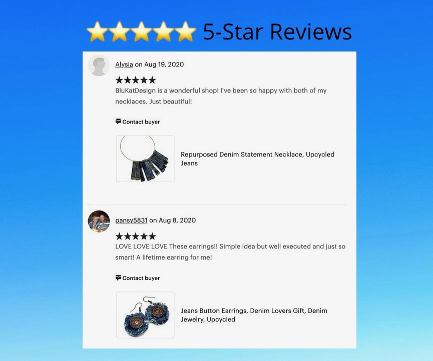 5-star etsy seller
