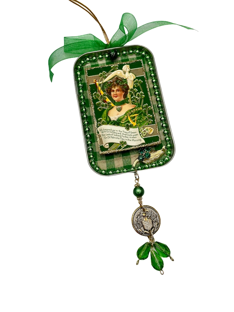 Vintage Style St. Patricks ornament