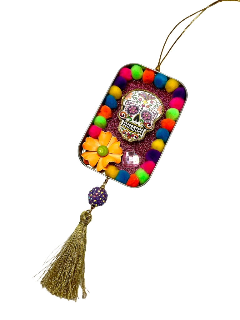 Day of the Dead skull ornament